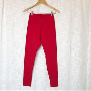 The Limited Red Leggings